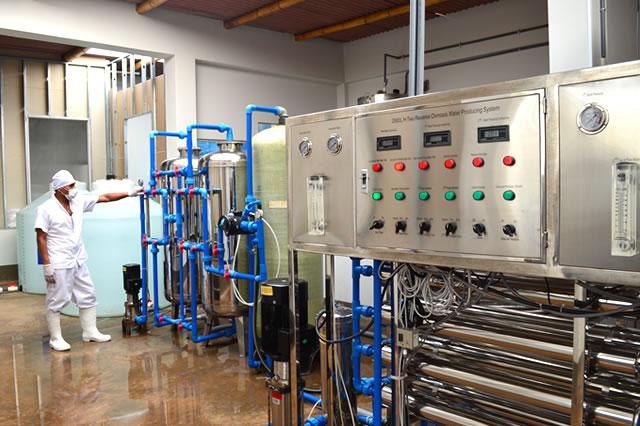 Osmosis Inversa doble etapa, para garantizar agua 100 % pura